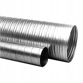 Galvanized pipe channel fi 100mm L - 1m